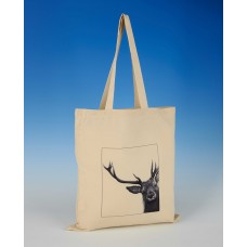 8606 Shopper Bag-MARK CHARLES-DEER